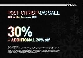 Adidas Post Christmas Sale