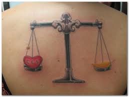 Zodiac Libra Tattoos