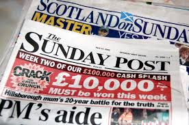 Scottish Sunday Newspapers by