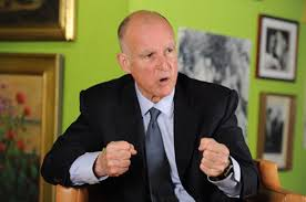 Jerry Brown is doing what