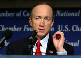 Indiana Governor Mitch Daniels