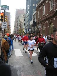 Philadelphia Marathon at 17th