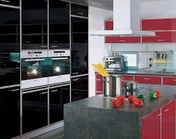 Exclusive kitchen red color