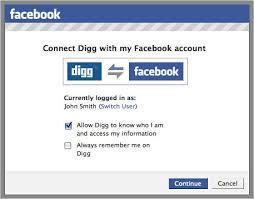 Facebooks announcement, in a