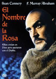 Cartel de la película, El nombre de la Rosa, 1986