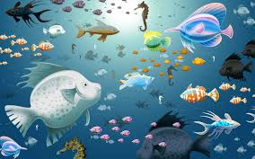 Wallpapers Backgrounds - HD Aquarium Wallpapers Virtual Fish Tank