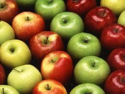 mele wikipedia1 Salute: Le mele (con la buccia) proteggono dal cancro al colon.