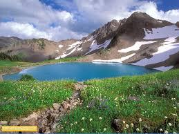 کوهستان بسیار زیبا