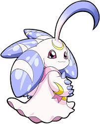 Digimon Adopts Xaki Game Lunamon