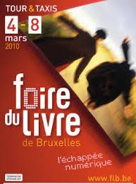 Les rendez-vous de la Foire du livre de Bruxelles
