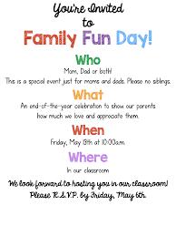Reunion Cards Invitation Family Day Invitation Card Paperinvite