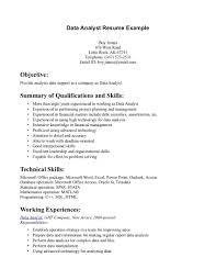 entry level business analyst resume examples knowledge in financial management summary quallification skills knowledge in financial management summary quallification skills resume sample for data analyst