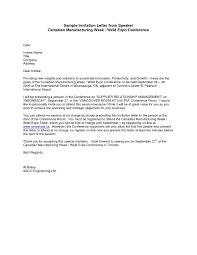 Advisory Board Appointment Letter Template Sample Formal Invitation Letter For A Guest Speaker