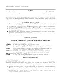 Sample Resume Format For Bcom Freshers by Sample Resume For It Freshers Looking For The First Job Create