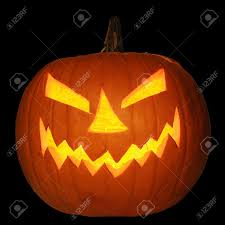 spooky halloween background free scary halloween pumpkin jack o lantern candle lit isolated on