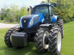 front of new holland t8390 row crop tractor new holland farm