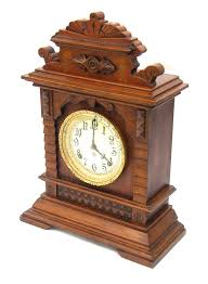Ansonia Mantel Clock Walnut Ansonia Syria Two Train Mantel Clock The Eight Day
