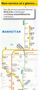Subway Nyc Map by Mta Info Guide