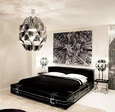 black white modern bedroom interior design architecture and