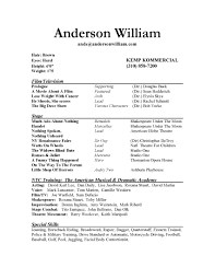 Imagerackus Sweet Actors Resume Example Ziptogreencom With Great     Imagerackus Great Actors Resume Example Ziptogreencom With Captivating Actors Resume Example Is Decorative Ideas Which Can