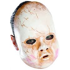 amazon com disguise costumes baby doll mask clothing