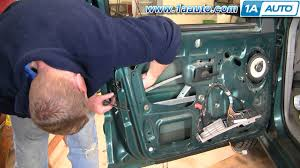 how to install replace power door lock actuator ford explorer