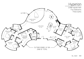 Common House Floor Plans by 115 Best Monolithic Dome House Plans Images On Pinterest Dome