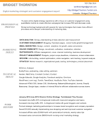 Marketing Resume Sample   Resume Genius Sample Resume For Marketing Manager Position CV Template Marketing Manager Free Resume Templates Download
