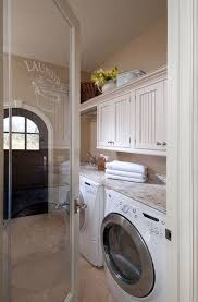 white doors with glass panels cottage laundry room with glass panel door u0026 limestone floors