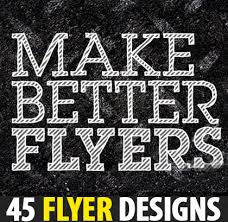 Five Quick Tricks for Designing Better Flyers