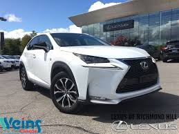2016 lexus nx lease special used 2016 lexus nx 200t for sale richmond hill on