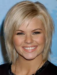 medium length straight hairstyles for round faces 2017 wavy hairstyles for medium length hair with bangs