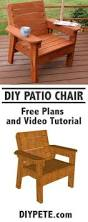 Basic Wood Bench Plans by Diy Outdoor Patio Furniture Ideas U0026 Instructions Chair Bench