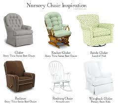 nursery rocker glider home design styles