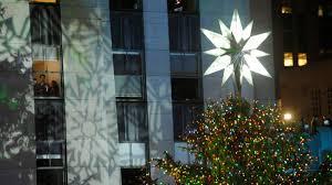 2011 rockefeller center christmas tree lighting nbc new york