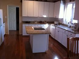 Hardwood In Kitchen by Kitchen Floor Medium Dark Hardwood Flooring And Kitchen Handful