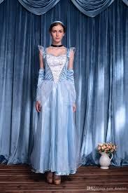 blue halloween costume new snow white princess dress cosplay halloween