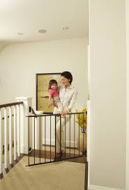 Pressure Mounted Baby Gate Baby Gates For Stairs Ideas Latest Door U0026 Stair Design