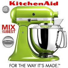 Kitchenaid Stand Mixer Sale by Kitchenaid Artisan Stand Mixer Set 1 Green Apple Cookfunky