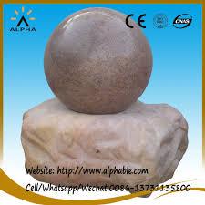 Gazing Ball Fountain List Manufacturers Of Garden Fountain Ball Buy Garden Fountain