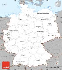 Detailed Map Of Germany by Gray Simple Map Of Germany