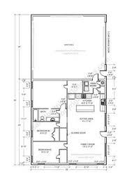 Metal Shop With Living Quarters Floor Plans Pole Barn With Living Quarters Plans Sds Plans Complete