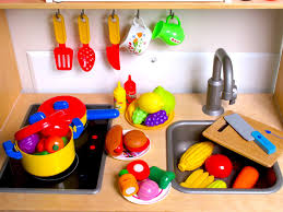 Vegetables by Learn Names Of Fruits And Vegetables With Toy Velcro Cutting Food