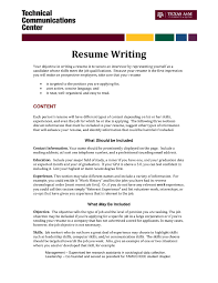 Resume Writing Assistance Resume Writing With Volunteer Experience