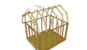 28 building a gambrel roof free 10 x12 shed plans 8x16 shed