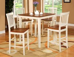 the design of modern and rustic compact kitchen table and chair