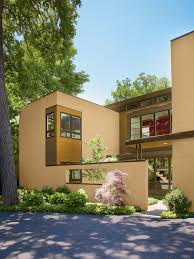 Modern Home Design Ideas Outside Small Modern Design Of The Modern House That Has Grey Wall