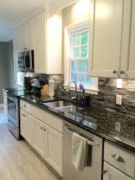 3 simple ways to be eco friendly every day granite slab natural my beautiful galley style kitchen renovation with allen roth shimmering lights glass backsplash from lowes white cabinets and butterfly black granite
