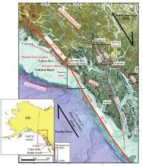 Juneau Alaska Map by Earthquake Hazards In Southeastern Alaska Project Description