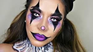 Indian Halloween Makeup Glam Circus Clown Makeup Tutorial Halloween Makeup Youtube